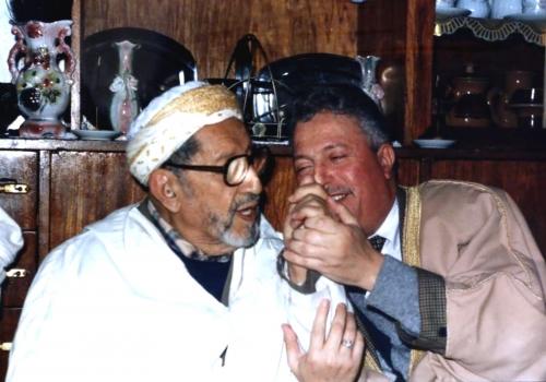 Rencontres avec Cheikh Muhammad Sharf, que Dieu lui fasse miséricorde