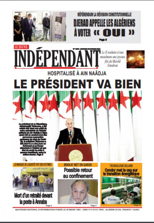 Le Jeune Indépendant  (28 octobre 2020)